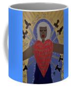 Our Lady Of Sorrows Coffee Mug by Angela Yarber