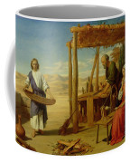 Our Saviour Subject To His Parents At Nazareth Coffee Mug by John Rogers Herbert
