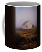 Out Building In The Fog Coffee Mug