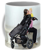 Out Of The Baby Stroller -- A Mother And Daughter Coffee Mug