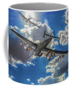 Out Of The Sun - Messerschmitt Bf 110g - Oil Coffee Mug