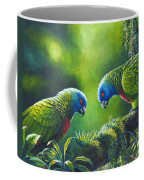 Out On A Limb - St. Lucia Parrots Coffee Mug