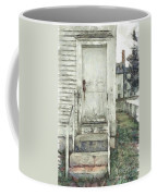 Out The Back Door Pencil Coffee Mug