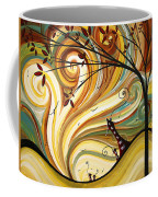 Out West Original Madart Painting Coffee Mug by Megan Duncanson