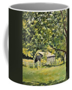 Outbuilding At Oriskatach New York Coffee Mug