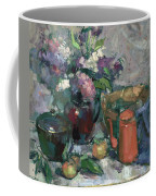 Outdoor Lilacs Coffee Mug