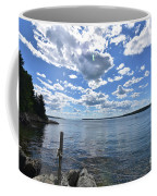 Outhaul On An Island In Casco Bay Maine  Coffee Mug