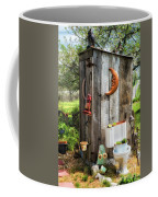 Outhouse In The Garden Coffee Mug