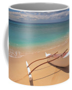 Outrigger On Beach Coffee Mug