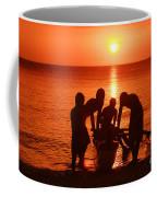 Outrigger Sunset Silhouet Coffee Mug