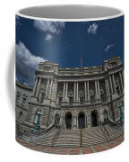 Outside The Library Of Congress Coffee Mug