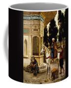 Outside The Palace Coffee Mug