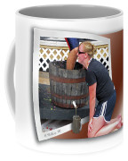 Over A Barrel Coffee Mug