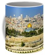 Over Jerusalem Coffee Mug