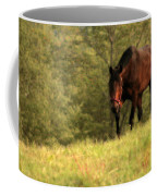 Over The Hill Coffee Mug