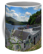 Over The Rooftops At Portree Coffee Mug