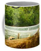 Over The Trunk Coffee Mug
