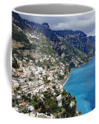 Overall View Of Part Of The Amalfi Coast In Italy Coffee Mug