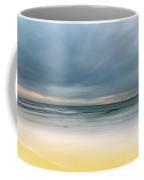 Overcast And Softly Beautiful Morning Seascape Coffee Mug