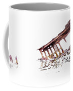 Overexposed Peter Iredale Coffee Mug
