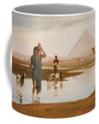 Overflow Of The Nile Coffee Mug by Frederick Goodall