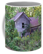 Overgrown Abandoned 1800 Farm House Coffee Mug