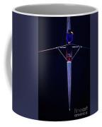 Overhead View Of Woman Rower On Montlake Cut  Coffee Mug