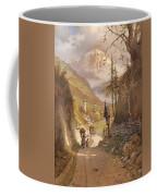 Overlooking Ramsau Bei Berchtesgaden Coffee Mug