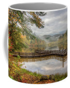 Overlooking The Beauty Of The Lake Coffee Mug