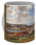 Overlooking The Town Of Dieppe Coffee Mug