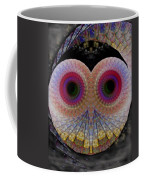 Owl Abstract Coffee Mug