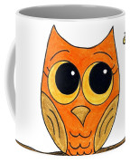 Owl And Bee Coffee Mug