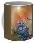 God King Owl Coffee Mug