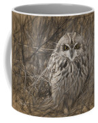 Owl In The Woods Coffee Mug