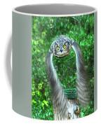 Owll In Flight Coffee Mug