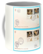 owls First day cover Coffee Mug
