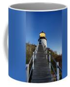 Owls Head Lighthouse Coffee Mug