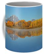 Oxbow Bend First Light  Coffee Mug