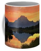 Oxbow Sunset 13 Coffee Mug