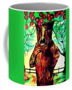 Oz Grumpy Apple Tree Coffee Mug by Jo-Ann Hayden