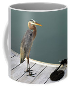 P1104117 Great Blue Heron Coffee Mug