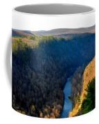 Pa Grand Canyon-pine Creek Coffee Mug