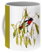 pa TonyOliver AustralianBirds 13 MistletoeBird Tony Oliver Coffee Mug