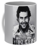 Pablo Escobar Mug Shot 1991 Vertical Coffee Mug