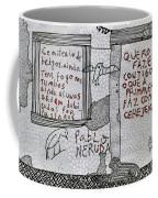 Pablo Neruda Coffee Mug