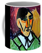 Pablo Picasso 1907 Self-portrait Remake Coffee Mug