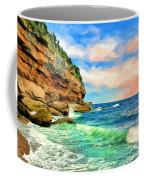 Pacific Coast At Big Sur Coffee Mug