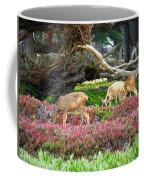 Pacific Grove Deer Feeding Coffee Mug