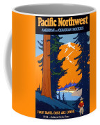 Pacific Northwest, American And Canadian Rockies, National Park Coffee Mug