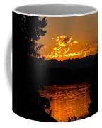 Pacific Northwest Sunset Coffee Mug